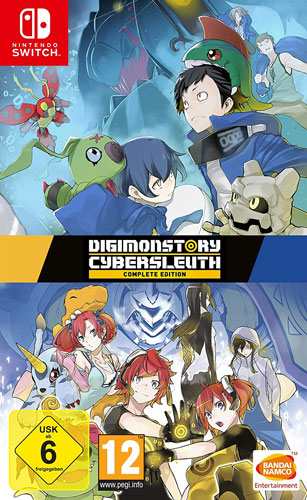 Digimon  Cyber Sleuth  SWITCH Compl.Ed.