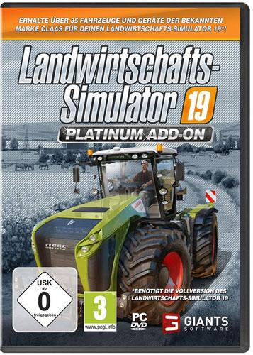 Landwirtschafts-Sim.  19  PC  CLAAS Offizielles Add-On