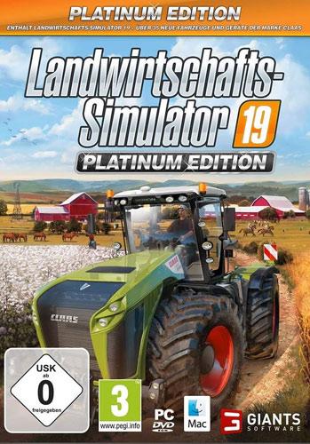 Landwirtschafts-Sim.  19  PC  PLATINUM
