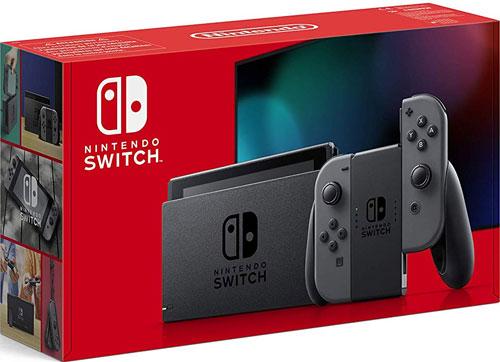 Switch   Konsole grau V2 Nintendo