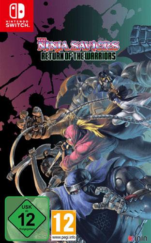 Ninja Saviors  Ninja Art Ed.  Switch Return of the Warriors