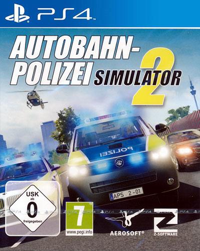 Autobahn-Polizei Simulator 2  PS-4