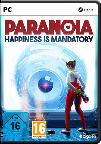 Paranoia  PC  happiness is mandatory