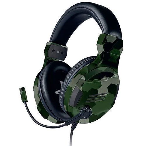 PS4 Headset Stereo V3 camo green offizielle Playstation Lizenz