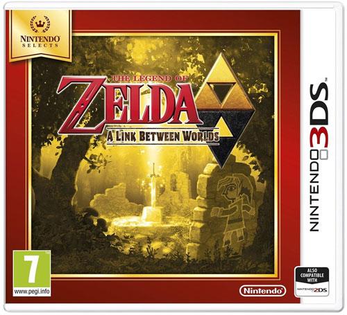 Zelda Link between worlds 3DS  UK multi