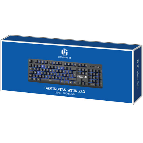 PC Keyboard  Gaming Pro Schalke 04