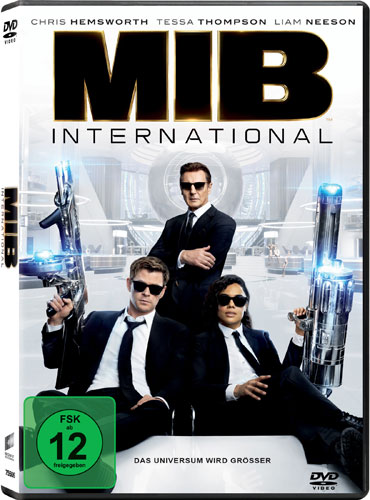 Men in Black: International (DVD) Min: 113/DD5.1/WS