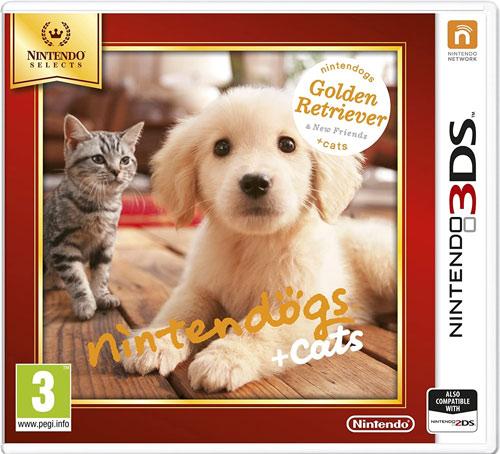 Nintendogs Retriever+Friends 3DS UK SELECTS