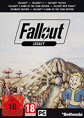Fallout Legacy Edition  PC Fallout 1/2/3/4/New Vegas/Tactics