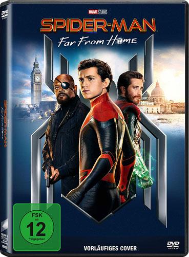 Spider-Man: Far from Home (DVD) Min: 124/DD5.1/WS