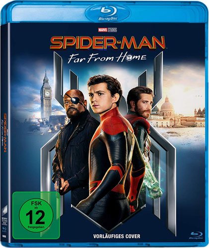 Spider-Man: Far from Home (BR) Min: 128/DD5.1/WS