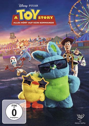 Toy Story 4 (DVD) Alles hört auf kein.. Kommando, Min: 96/DD5.1/WS