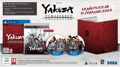 Yakuza Remastered Collection  PS-4  D1 Yakuza 3+4+5