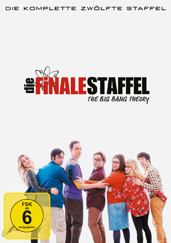 Big Bang Theory - Staffel 12 (DVD) Finale Staffel