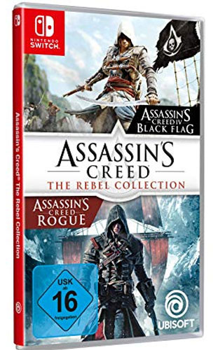 AC  Rebel Collection  Switch AC Black Flag + Rogue als DLC