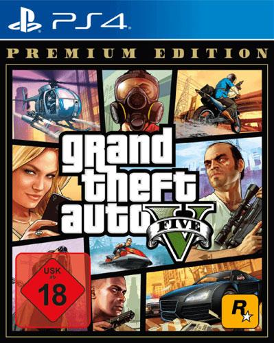 GTA  5  PS-4  Premium