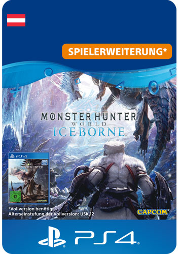 ESD Monster Hunter World: Iceborn AT Code wird als PDF Datei geliefert