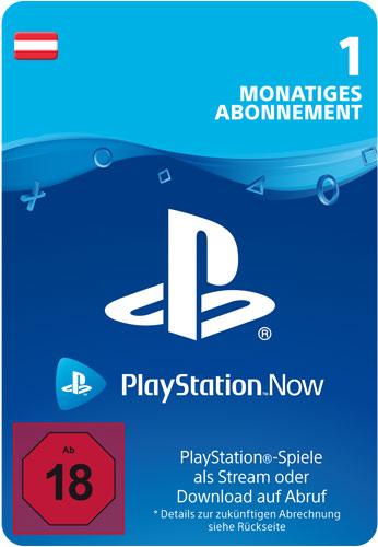 PSN Code    1 Monat PS NOW AT Code wird als PDF Datei geliefert PlayStation Now