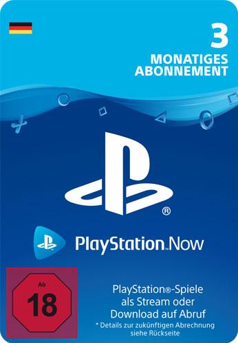 PSN Code    3 Monate PS NOW Code wird als PDF Datei geliefert PlayStation Now