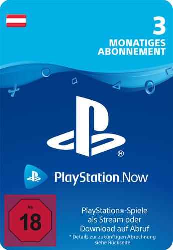 PSN Code    3 Monate PS NOW AT Code wird als PDF Datei geliefert PlayStation Now
