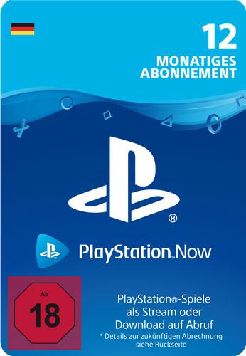 PSN Code   12 Monate PS NOW Code wird als PDF Datei geliefert PlayStation Now