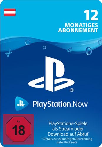 PSN Code   12 Monate PS NOW AT Code wird als PDF Datei geliefert PlayStation Now