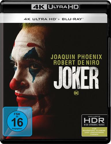 Joker  (UHD) Min: 126/DD5.1/WS  4K