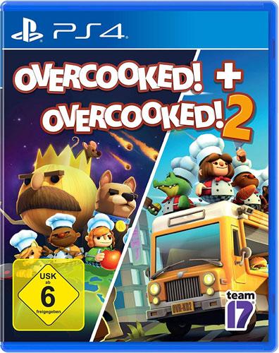 Overcooked Double Pack  PS-4 Overcooked + Overcooked 2