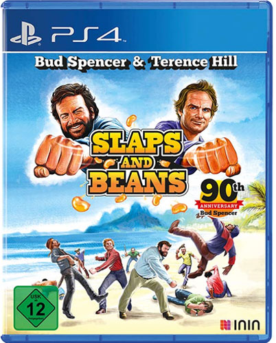 Bud Spencer & Terence Hill  PS-4 Slaps and Beans Anniversary Ed.