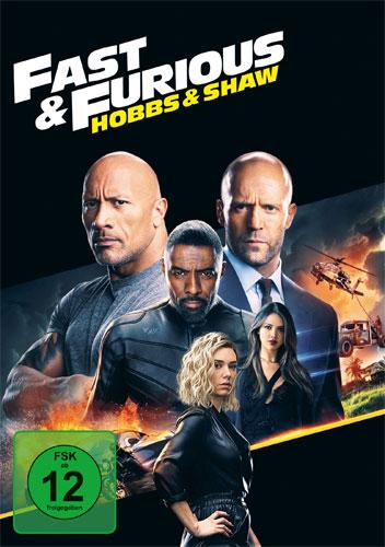 Fast & Furious: Hobbs & Shaw (DVD) Min: 131/DD5.1/WS