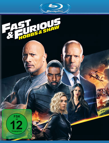 Fast and Furious Hobbs und  Shaw BR