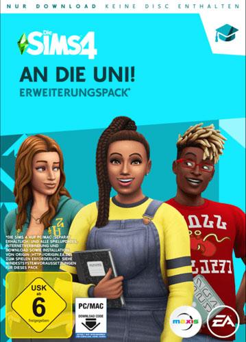 Sims 4  PC  Addon  An die Uni