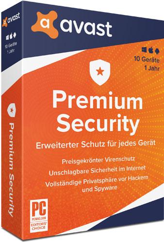 Avast Premium Security 2020 Multi-Device