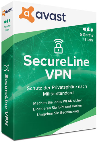 Avast SecureLine VPN 2020 Multi-Device