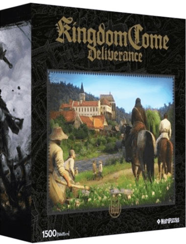 Puzzle Kingdome Come:Deliverance Castle   1500 Teile