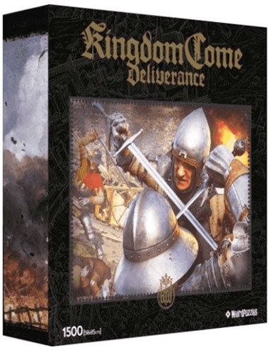 Puzzle Kingdome Come:Deliverance STARCIE   1500 Teile