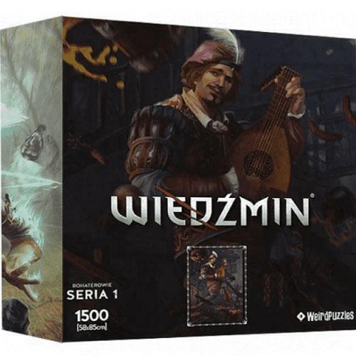 Puzzle Witcher Series 1 - Jaskier 1500 Teile