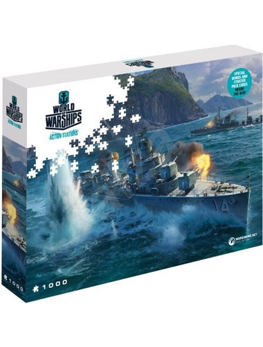 Puzzle World of Warships ,,Pan Asia Destroyers   1500 Teile