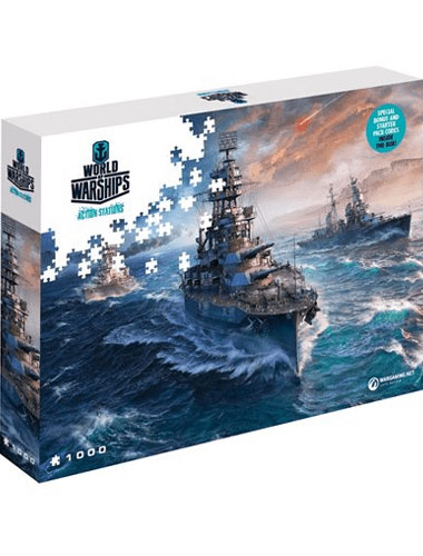 Puzzle World of Warships ,,Ready to Fight   1500 Teile