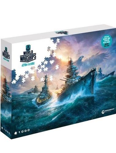 Puzzle World of Warships ,,German Battleships   1500 Teile