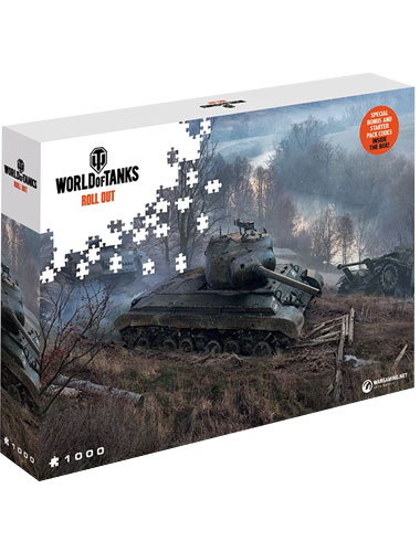 Puzzle World of Tanks ,,On the Prowl   1500 Teile