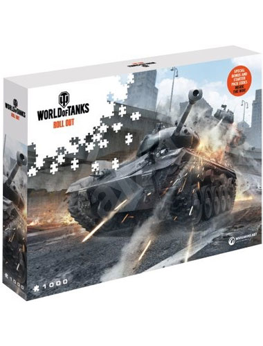 Puzzle World of Tanks ,,Watch your Back   1500 Teile