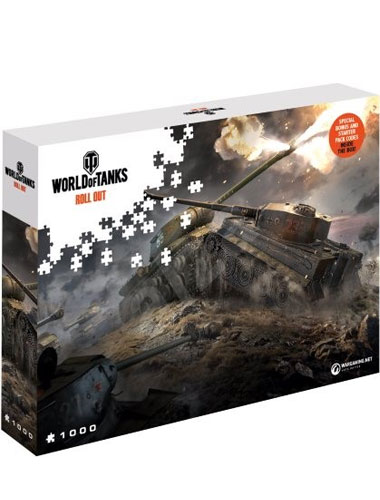 Puzzle World of Tanks ,,East vs West   1500 Teile