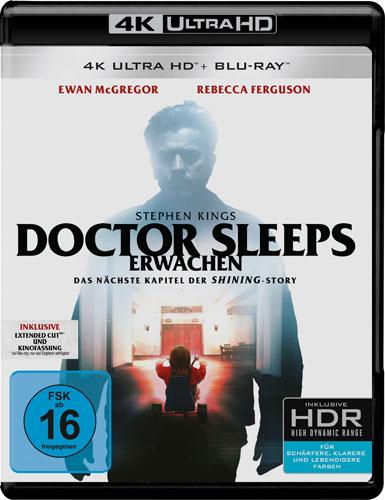 Stephen King: Doctor Sleeps Erwach.(UHD) Nächste Kapitel d.Shining Story 2Disc 4K
