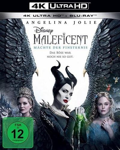Maleficent #2: Mächte d.Finsternis (UHD) Min: 118/DD5.1/WS  Disney, 4K&BR, 2Disc