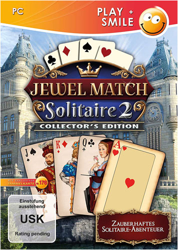 Jewel Match Solitaire  PC  C.E. PLAY+SMILE