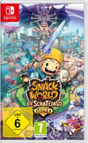 Snack World Gold  Switch Dungeon Crawl