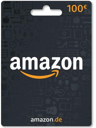 Amazon  Card 100 Euro Verkauf erfolgt im Namen u. auf Rechnung des Gutscheinausstellers