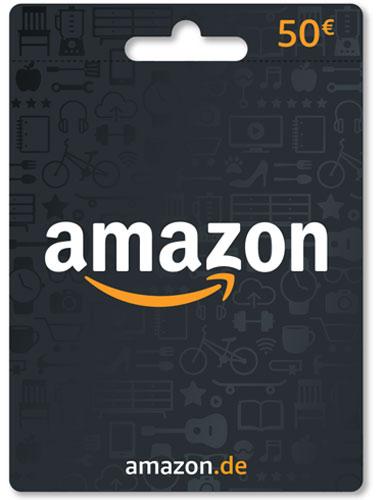 Amazon  Pin  50 Euro Code als pdf. Verkauf erfolgt im Namen u. auf Rechnung des Gutscheinausstellers