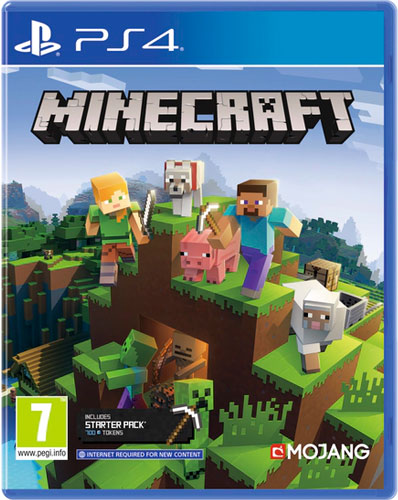 Minecraft  PS-4  UK  Bedrock Ed. multi